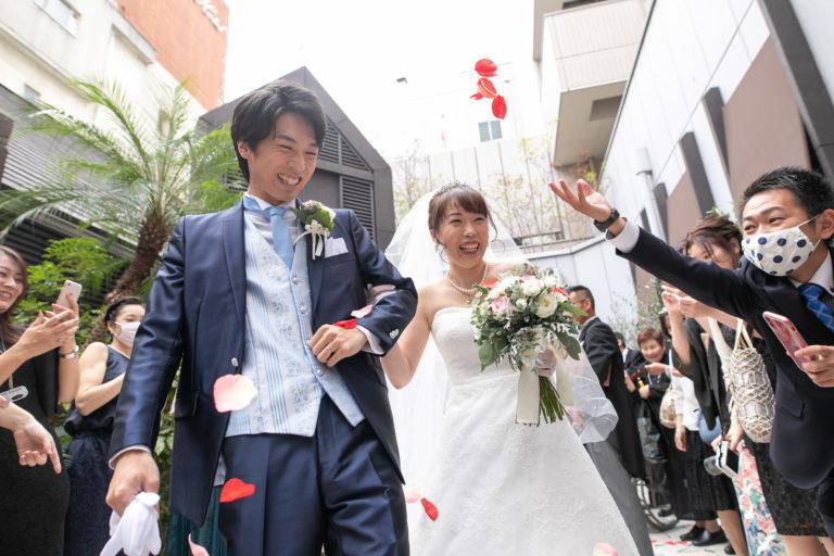 【コロナ禍の結婚式撮影】
