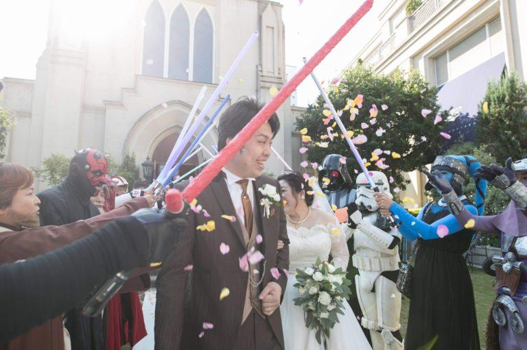 【STAR WARS wedding】結婚式は自由だっ!!